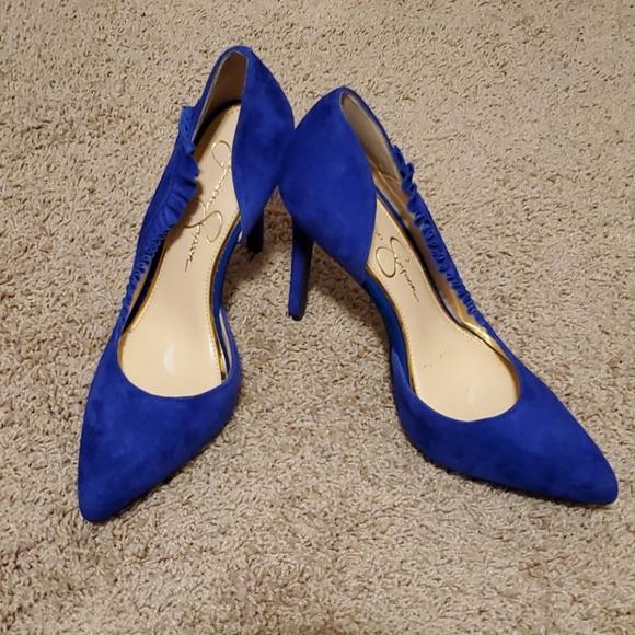 Fabulous blue heels (NWOT)